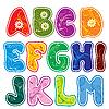 Векторный клипарт: цветочный alfabet