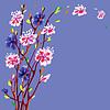 Векторный клипарт: весенний цветок