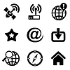 Computer web icons   Stock Vector Graphics