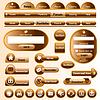 Vector clipart: web design elements