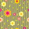 Vector clipart: background flower