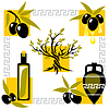 Vector clipart: greece olive
