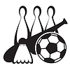 Vector clipart: sport icon