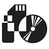 Vector clipart: media icon