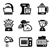 Kitchenware icons | Stock Vector Graphics