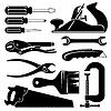 Hand tools | Stock Vector Graphics