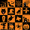 set of halloween symbols