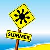 Векторный клипарт: Летом символ