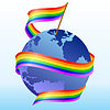 Vector clipart: flag rainbow