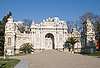 Dolmabache Palace Entrance - wide view | Stock Foto