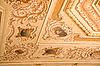 角落吊顶装饰 -  Dolmabahche宫 | 免版税照片