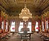 访客馆 - 宫Dolmabahche,宽视野 | 免版税照片