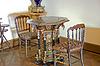 旧家具收藏 -  Dolmabahche宫* | 免版税照片