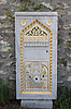 Grave Stone near the Topkapi Entrance | Stock Foto
