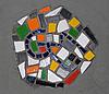 Фото 300 DPI: Округлые Цвет керамического украшения