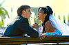 Photo 300 DPI: bridegroom and bride