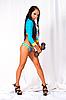 Фото 300 DPI: Девушка с гантелями