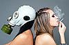 Photo 300 DPI: smoking harms health