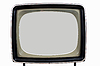 Photo 300 DPI: old television set
