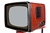 Photo 300 DPI: old television set