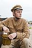 ID 3168388 | Soldat mit Kessel im Retro-Stil | Foto mit hoher Auflösung | CLIPARTO