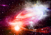 Galaxy in space | Stock Illustration