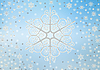 ID 3116392 | Christmas background of snowflakes | High resolution stock illustration | CLIPARTO