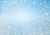 Christmas background of snowflakes | Stock Illustration
