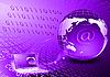 Transfer of digital streams | Stock Illustration