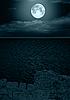ID 3116477 | Full moon w chmurach | Foto stockowe wysokiej rozdzielczości | KLIPARTO