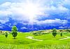Sommer sonnigen Tag | Stock Illustration