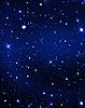 Stars in the night | Stock Illustration