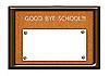 回到学校的概念 | 光栅插图