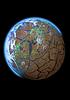 Dying planet   Stock Illustration