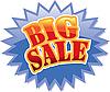 Photo 300 DPI: Big Sale label
