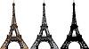 ID 3113646 | Z wieży Eiffla | Stockowa ilustracja wysokiej rozdzielczości | KLIPARTO