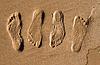 ID 3113702   모래에 발자국   높은 해상도 사진   CLIPARTO