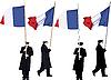 Французская почетный караул   Иллюстрация
