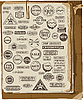 Vector clipart: collection of rubber stamps