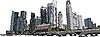 Vector clipart: Singapore cityscape
