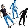 Vector clipart: Skater