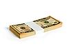 Photo 300 DPI: Wad of 10 dollar bank notes