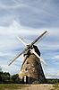 Фото 300 DPI: Традиционная голландская ветряная мельница в Латвии