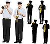 ID 3114653   Military musicians   High resolution stock illustration   CLIPARTO