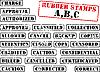 Фото 300 DPI: Сборник резиновые штампы ABC