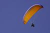 供电paraglide的 | 免版税照片