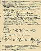 Vector clipart: page of old hand-written text