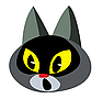 Vector clipart:  of the cat