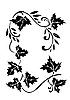 Vector clipart: autumn ornament