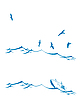 Векторный клипарт: набор морской пейзаж
